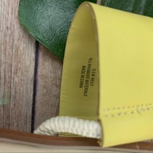 Dolce Vita Shoes - Dolce Vita Neily yellow and brown flat sandals